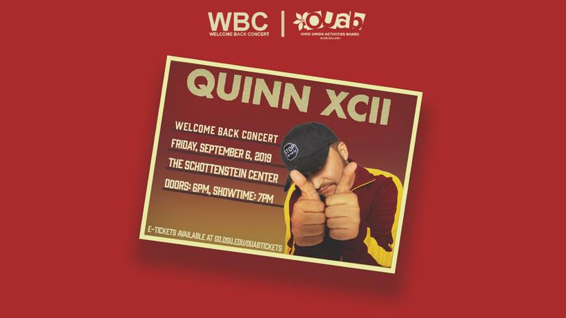Ohio University Welcome Back Concert with Quinn XCII with special guest SABA