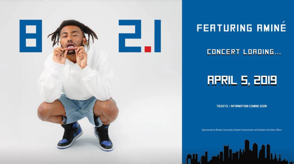 BU Announces 802.1 ft. Aminé