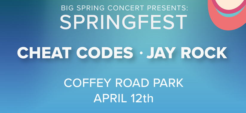 OUAB presents Big Spring Concert ft. Cheat Codes & Jay Rock
