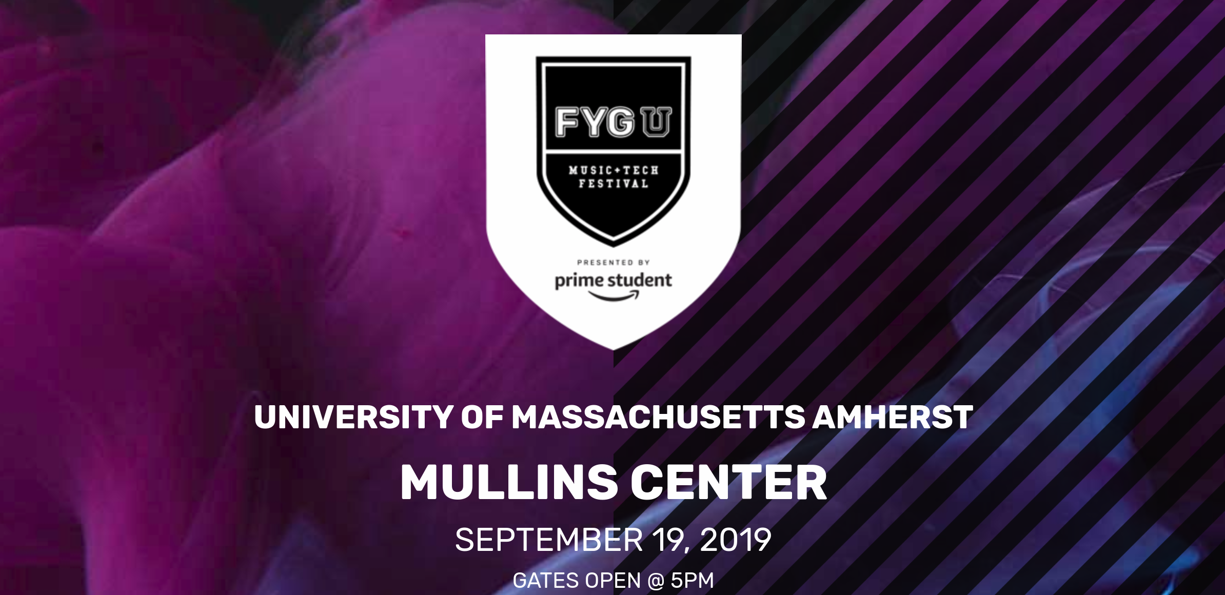 UMass Amherst presents FYGUFEST with Pusha T ft. Lil Tecca, Luh Kel, Souly Had, Savage Ga$p, and Teyonahh