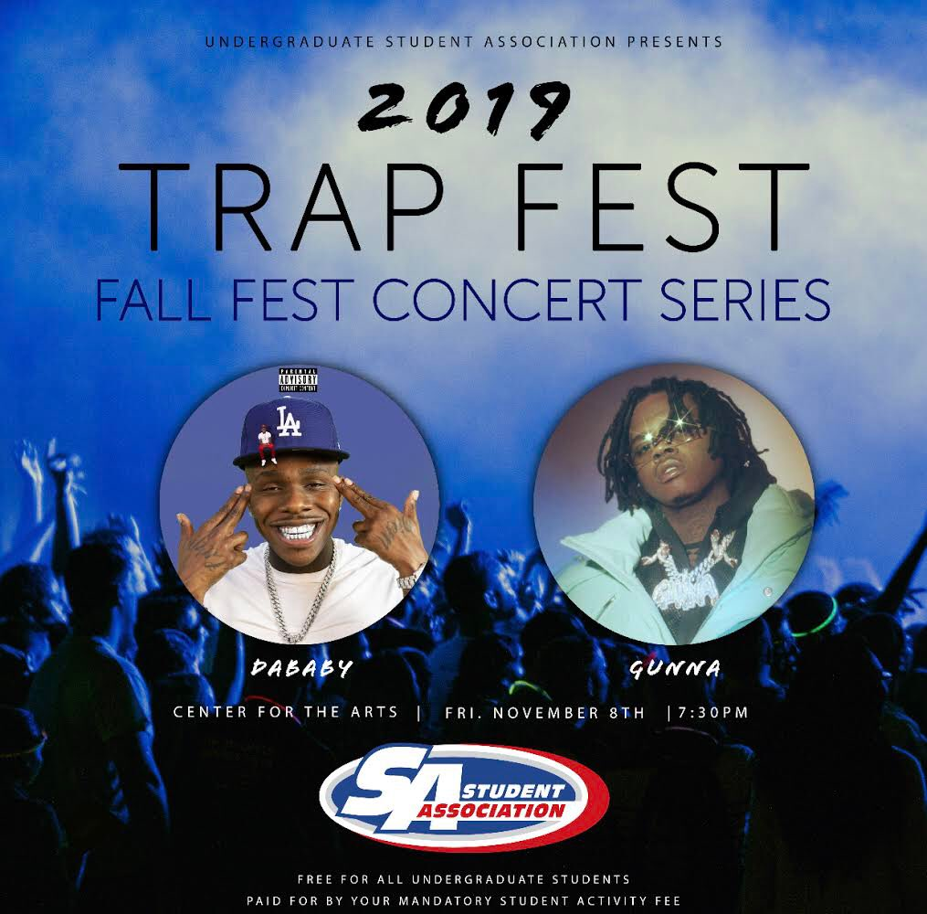 University at Buffalo Fall Fest with Dababy and Gunna